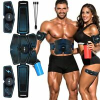 Abdominal Muscle Stimulator Trainer EMS Abs Fitness Training Gear Muscles Toner
