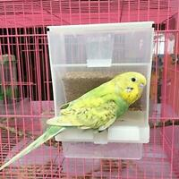 Bird Cage Auto Food Seed Feeders Automatic European No More Mess HOT Sale