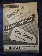 Partition Charleston 60 Dollet Blues Trompet Georges Guy Music Sheet