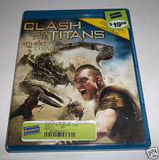 Clash of the Titans (Blu-ray/DVD, 2010) - Canadian Copy 1 Disc Version