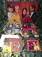 ABBA , Summer night Set, Single, Cd, Postkarten, Poster & Print, selten rare