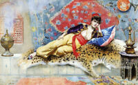 """high quality oil painting handpainted on canvas """"Arabian nights"""""""