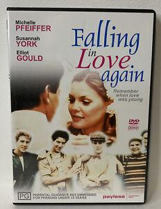 Falling in Love Again DVD - Michelle Pfiffer Susannah York Elliot Guild