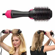 Round Brush Hair Dryer Volumizer Hot Air Styling Hair Straightener Curler Blow