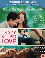 CRAZY STUPID LOVE - Julianne Moore - Blu-Ray / DVD Set *NEW & SEALED*