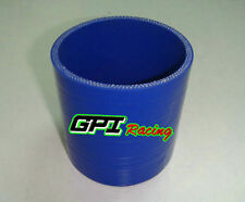"4"" Inch 102MM Silicone Straight Coupler Hose Turbo Intercooler Intake Pipe blue"