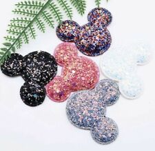 Disney's Mickey Mouse Glittery Sew On Patch - Embroidery Patches