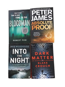 Thriller 4 Book Bundle Pobi Peter James  Blake Crouch Woodhouse Crime Mystery