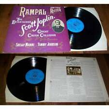 JEAN PIERRE RAMPAL - Plays Scott Joplin LP Dutch Press Ragtime Jazz