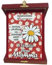 Targa Festa Della Mamma Ti Voglio Bene Idea Regalo PS 05893