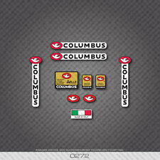 0272 Columbus Tubi Speciali AELLE Bicycle Frame and Fork Stickers - Decals