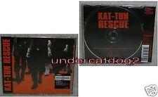 J-POP KAT-TUN Rescue 7 DAYS BATTLE Taiwan CD w/Kara track