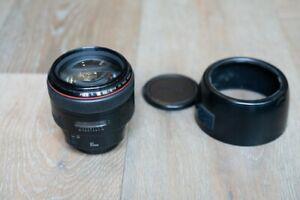 Canon EF 85mm f1.2L II USM Lens Good Condition