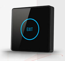 Touch Sensor Exit Button Switch NC NO COM For Door Access Control