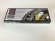 BikeMaster 420 Gold Motocross Chain 120 Links