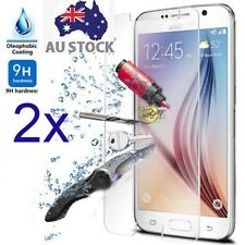 2xTempered Glass Screen Protector Samsung Galaxy Note 4 5 S4 S5 mini S6 A800F