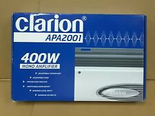 Clarion APA2001 1-Channel Mono Car Amp 400 watts BRAND NEW in Box with Manual