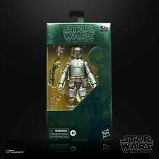 Star Wars Black Series Carbonized Boba Fett Metallic Figure Mandalorian IN STOCK