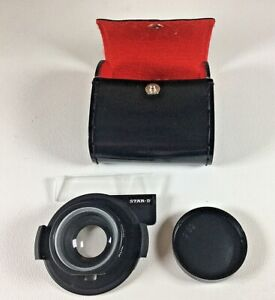 STAR-D Auxiliary Wide Angle Lens for Nikon L35AF made in Japan