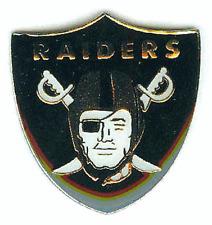 Raiders Logo Pin