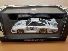 """1:43 Porsche 935 """"Moby Dick"""" DRM 1981 #66 - Minichamps 430816766 J. Mass"""
