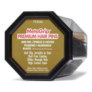Premium Hair Pins Black-Gold