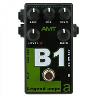 AMT Electronics B1 (Bogner) – guitar preamp (distortion/overdrive) effect pedal
