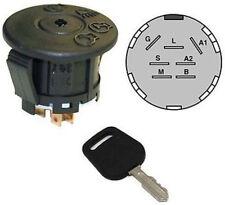 Ignition Starter Switch w Key fits John Deere L111 L118 G110 102 115 125 135 145
