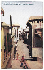 Damascus, The Street Called Straight, Unposted, by Photochrom