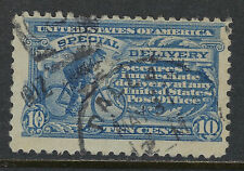 SCOTT E10 1916 10 CENT SPECIAL DELIVERY ISSUE USED F-VF CAT $35!