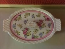 Grace'S Pantry 3 in 1 Oven Safe Lidded Casserole Dish Victorian Flowers New