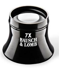 Bausch & Lomb New Precision Watchmaker Loupe 7X Lightweight Glass Lens Magnifier
