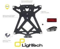 LIGHTECH PORTATARGA REGOLABILE + LUCE LED + CATADIOTTRO MV AGUSTA BRUTALE 750