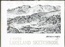 A Fifth Lakeland Sketchbook - A Wainwright. Dust jacket shows price of £2.50.