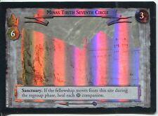 Lord Of The Rings Foil CCG Card RotK 7.U350 Minas Tirith Seventh Circle
