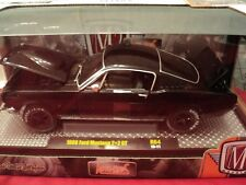M2 Machines 1966 Ford Mustang GT 2+2  NIB  1:24 Scale 1/5,880  made Black