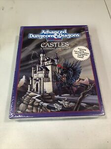 CASTLES BOX SET DUNGEONS & DRAGONS AD&D 2ND ED TSR 1056 COMPLETE New SW