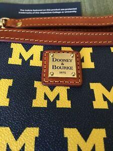Dooney & Bourke University of Michigan Wristlet