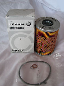 Oil Filter Genuine BMW E12 E28 E34 E24 E23 E32 5 Series 530i 535i 11429063138