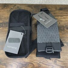 Nomatic Waist Straps with Passport Pocket And Mesh Pocket for Backpack New
