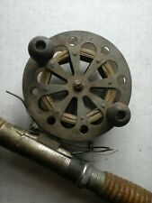 Antique fishing rod and reel