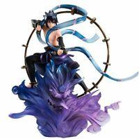Anime Naruto Shippuden Action Figure Uchiha Sasuke PVC Figurine Toy GEM Series