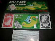Golf Ace Card Game 2 to 4 players Complete Free P+P