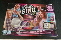 SPIN TO SING GAME SPIN IT SING WIN IT GAME COMPLETE NICE CONDITION TALENT SHOW