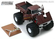 Ford F-250 Monster Truck 66-Inch Tires Goliath Kings of Crunch 1:18 Greenlight