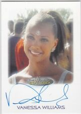 STAR TREK THE WOMEN OF 50TH ANNIVERSARY VANESSA WILLIAMS AS ARANDIS AUTOGRAPH EL