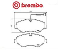 P56066 Kit pastiglie freno, Freno a disco (MARCA-BREMBO)