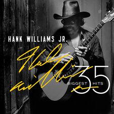 35 Biggest Hits by Hank Williams, Jr. (CD, Jun-2015, 2 Discs, Curb)