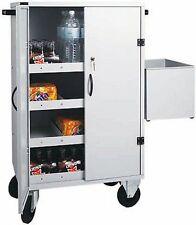 Carrello per rifornimento frigo bar cm 80x50x118H hotel alberghi carrelli piano