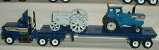 Keller Bros Flatbed with Ford Tractor Load '89 Winross